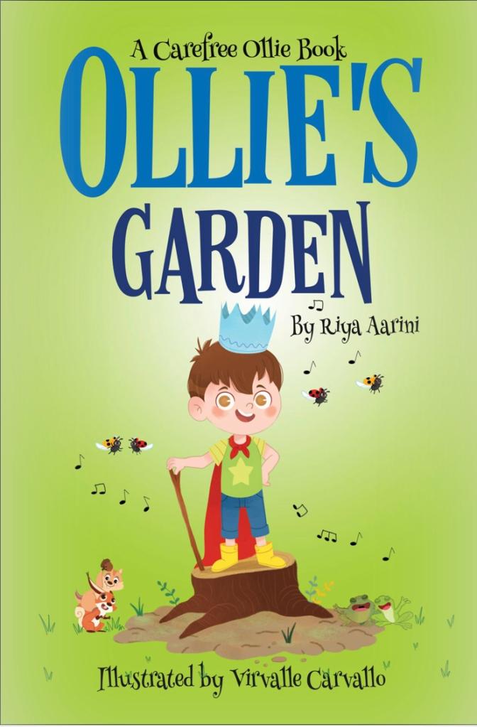 Ollie's Garden Book review